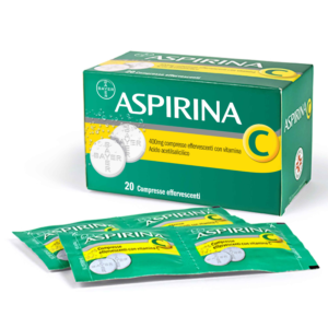Aspirina C 20 compresse effervescenti 400+240 mg