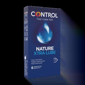 Control Nature xtra Lube 6 Preservativi