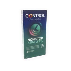 Control Non Stop Xtra Lines 6 Preservativi
