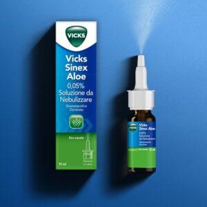 Vicks sinex aloe nebulizzatore 15ml 0,05%