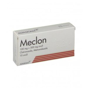 Meclon 10 Ovuli Vaginali 100 mg + 500 mg