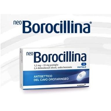 NeoBorocillina 16 pastiglie 1,2mg + 20mg