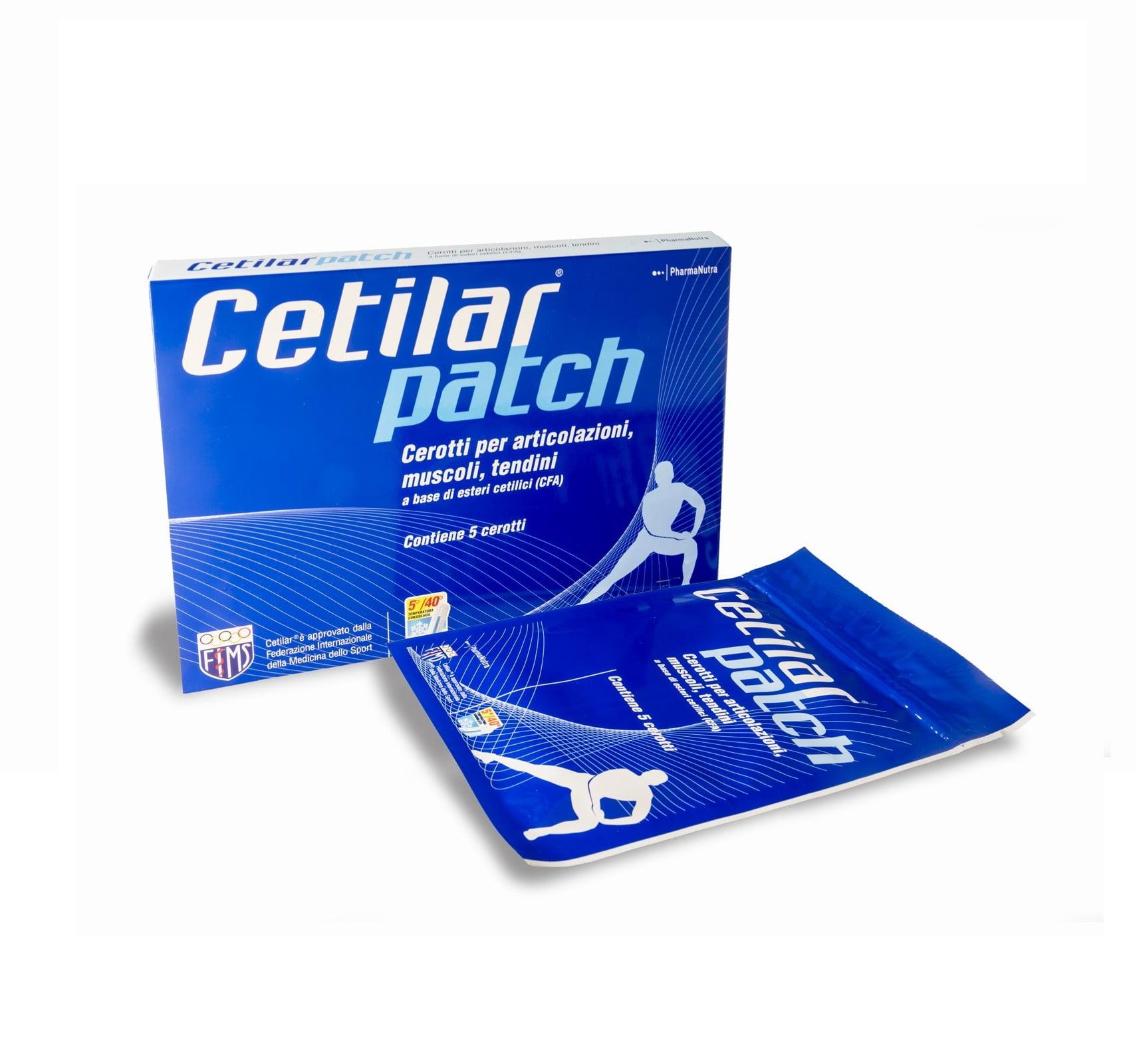Cetilar Patch 5 Cerotti con Mentolo - Farmaci & Dintorni