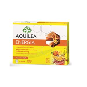 Aquileia Energia Magnesio Potassio Zinco Ginseng 10 Buste Gusto Sex on the Beach