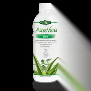 Erba Vita Aloe Vera Puro Succo e Polpa 100 % 1000 ml