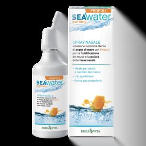 Erba Vita SeaWater Isotonic Spray Nasale Soluzione Isotonica con PROPOLI 150ml