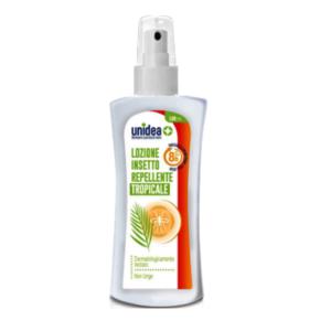 Unidea Lozione Insetto Repellente Tropicale Spray 100 ml