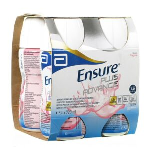 Ensure Plus Advance Fragola 4x220 ml