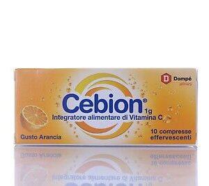 Cebion Gusto Arancia 10 compresse effervescenti