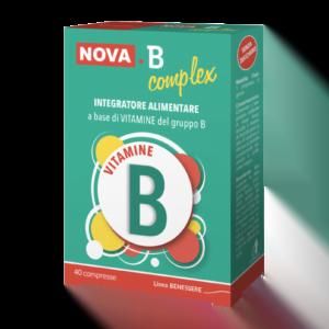 Nova B Complex Interatore Alimentare di Vitamina B 40 cpr