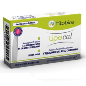 Fitobios LIPECAL 30cpr Limita L'assorbimento di Grassi e Zuccheri