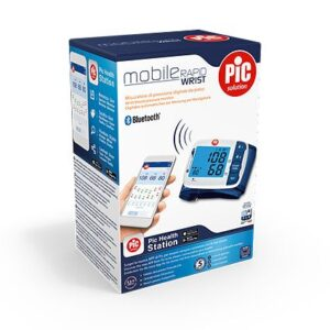 Pic Solution Mobile Rapid Wirst Misuratore di Pressione Bluetooth