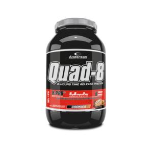 Anderson Quad-8.0 Cookies Proteine a Lento Rilascio 800g polvere