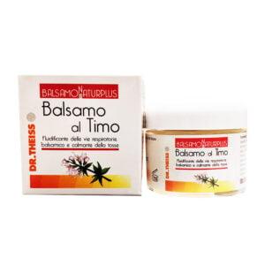 Dr. Theiss Naturplus Balsamo al Timo Tosse Raffreddore 50ml