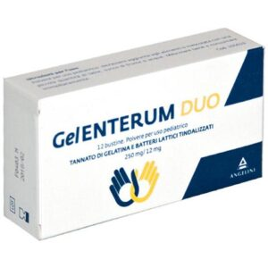 Angelini GelEnterum Duo 12 Bustine Uso Pediatrico 250mg