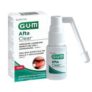 Gum Afta Clear Spray Afte e Lesioni Bocca 15ml