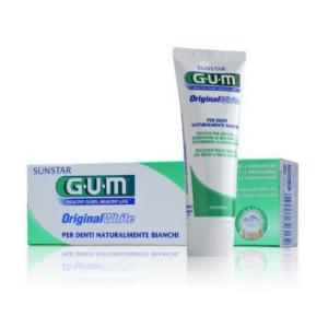 Gum Original White Dentifricio Bianco Naturale 75ml
