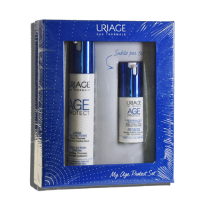 Uriage Age Protect Cofanetto Crema Viso + Contorno Occhi