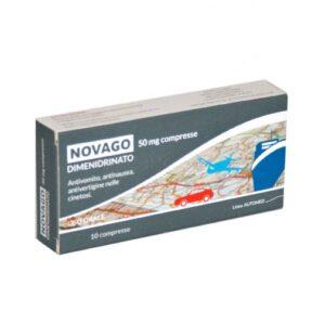 Novago 50mg Dimenidrinato 10 compresse