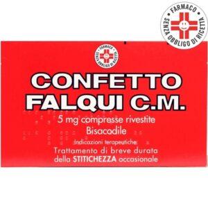 Confetto Falqui C.m. 5mg Trattamento Stitichezza 20 cpr Rivestite