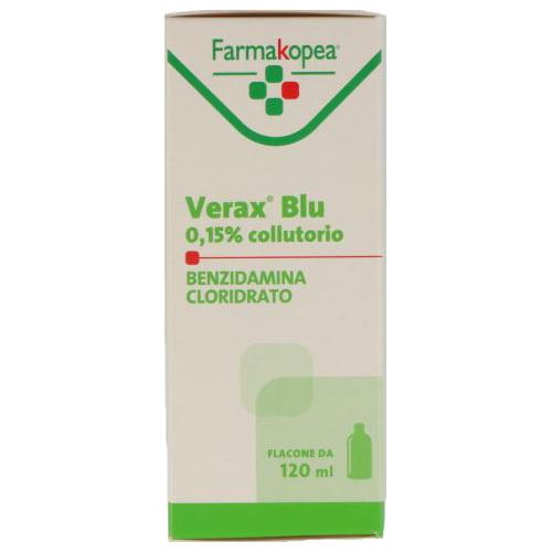 Farmakopea Verax Blu 0,15% Collutorio 120ml