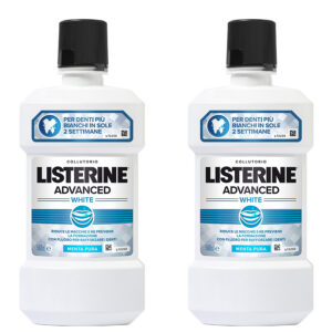 Listerine Advanced White 2 pz da 500ml