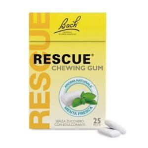 Bach Rescue Chewing Gum Senza Zucchero Menta Fresca 25 pezzi