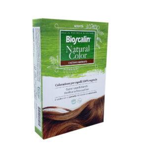 Bioscalin Natural Color Tinta 100% Vegetale Castano Ambrato