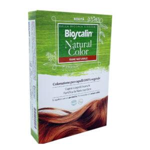Bioscalin Natural Color Tinta 100% Vegetale Rame Naturale