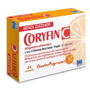 Coryfin C Integratore Alimentare Vitamina C 24 Caramelle Gusto Agrumi