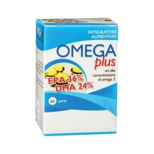 Omega Plus Alta Concentrazione Omega 3 60 Perle
