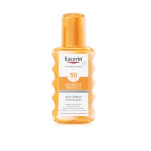 Eucerin Sensitive Protect Sun Spray Transparent SPF 50 200ml