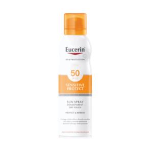 Eucerin Sensitive Protect Sun Spray Transparent Dry Touch SPF 50 200ml