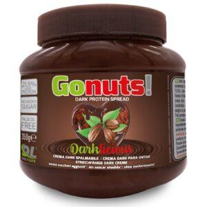 Gonuts ! Darklicious Crema Spalmabile Proteica Gusto Cioccolato Fondente/Nocciola 350g