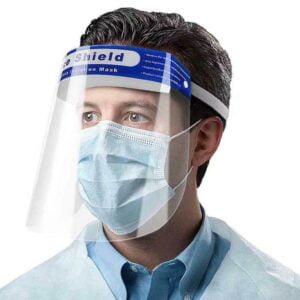 isiera protettiva para schizzi di sicurezza maschera schermo trasparente