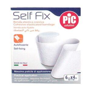 Pic Solution Benda Elastica Self Fix 6cm x 4m