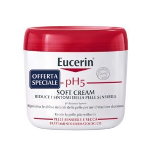 Eucerin pH5 Soft Cream Corpo Pelle Sensibile e Secca 450ml