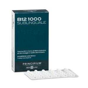 Biosline Principium Vitamina B12 1000 60cpr Sublinguali
