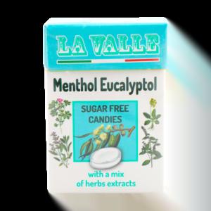 La Valle Caramelle Senza Zucchero Gusto Mentolo - Eucaliptolo 30gr