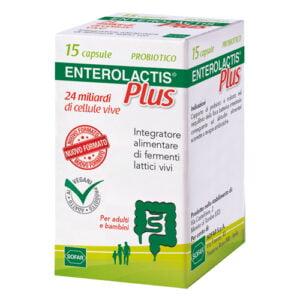 Enterolactis Plus Fermenti Lattici 15 CapsuleEnterolactis Plus Fermenti Lattici 15 Capsule