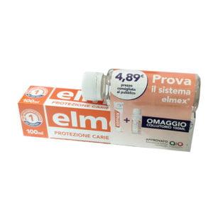 Elmex Protezione Carie Dentifricio 100ml + Collutorio 100ml