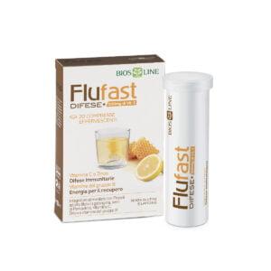 Bios Line Flufast Difese+ 500mg Vitamina C 20 Cpr Efferv.