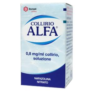 Collirio Alfa Decongestionante 0,8mg/ml Flaconcino da 10ml