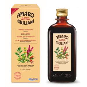 Amaro Giuliani Elisir di Benessere Senza Alcool e Zuccheri 300ml