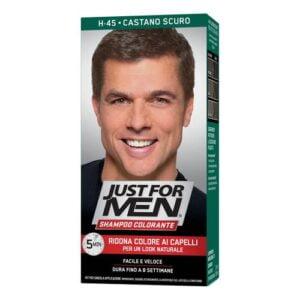 Just For Men Shampoo Colorante H45 Castano Scuro