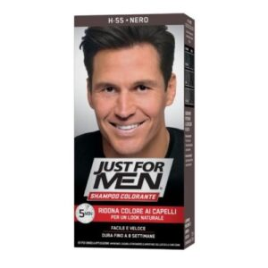 Just For Men Shampoo Colorante H55 Nero