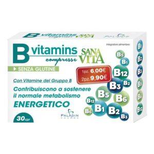 Sanavita B-Vitamins Vitamine B 30 Compresse