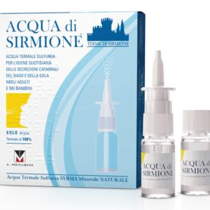 Menarini Acqua di Sirmione Igiene Quotidiana Naso e Gola 6fl da 15ml